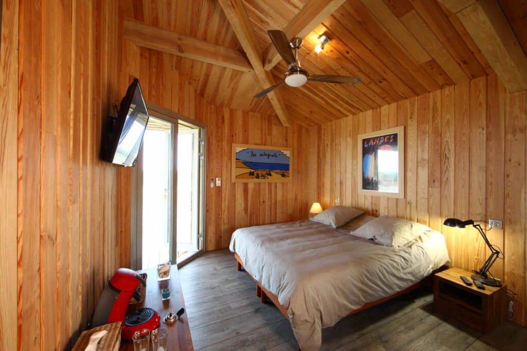 chambre 1a - Location Villa de Vacances en Bord de Mer à Seignosse Hossegor Landes