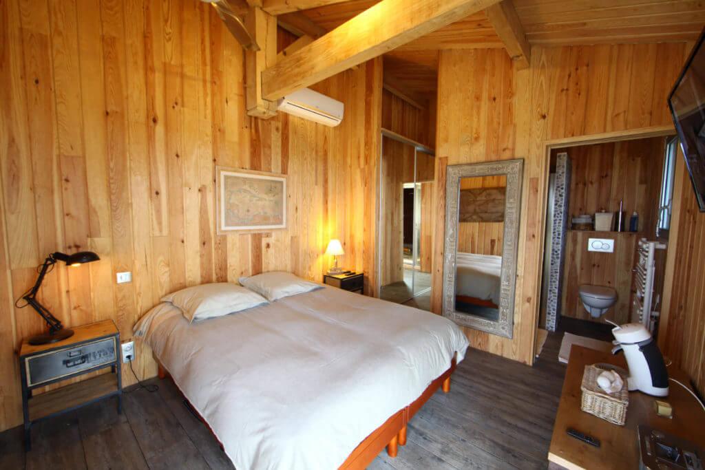 chambre 2b - Location Villa de Vacances en Bord de Mer à Seignosse Hossegor Landes