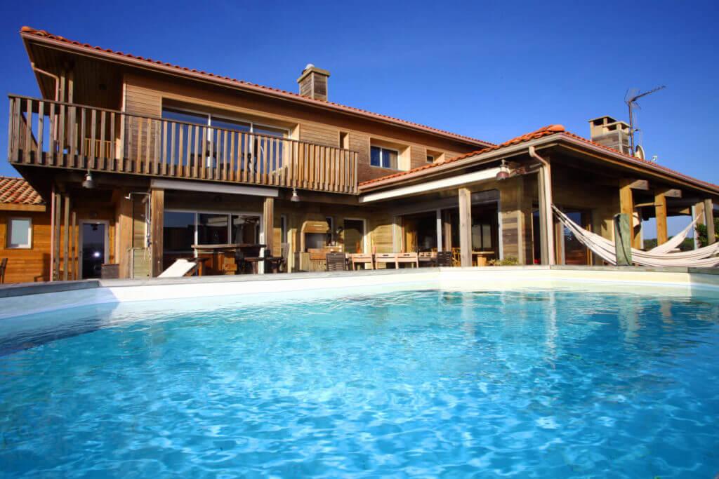 piscine 1e - Location Villa de Vacances en Bord de Mer à Seignosse Hossegor Landes