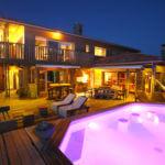 Terrase avec spa - Villa de Vacances en Bord de Mer à louer à Seignosse Hossegor dans les Landes