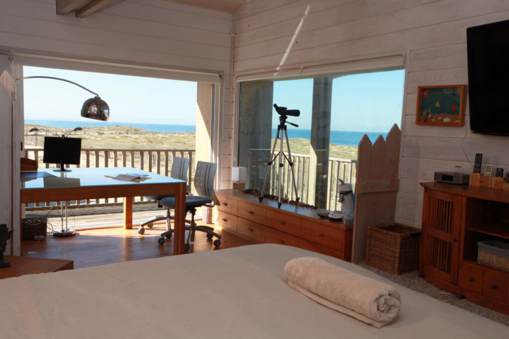 Suite parentale avec bureau et vue sur mer - Location Villa de Vacances en Bord de Mer à Seignosse Hossegor Landes