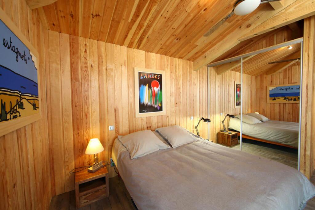 chambre 1b - Location Villa de Vacances en Bord de Mer à Seignosse Hossegor Landes