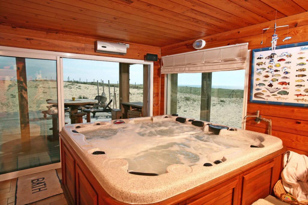 Spa 1c sur la plage - Location Villa de Vacances en Bord de Mer à Seignosse Hossegor Landes