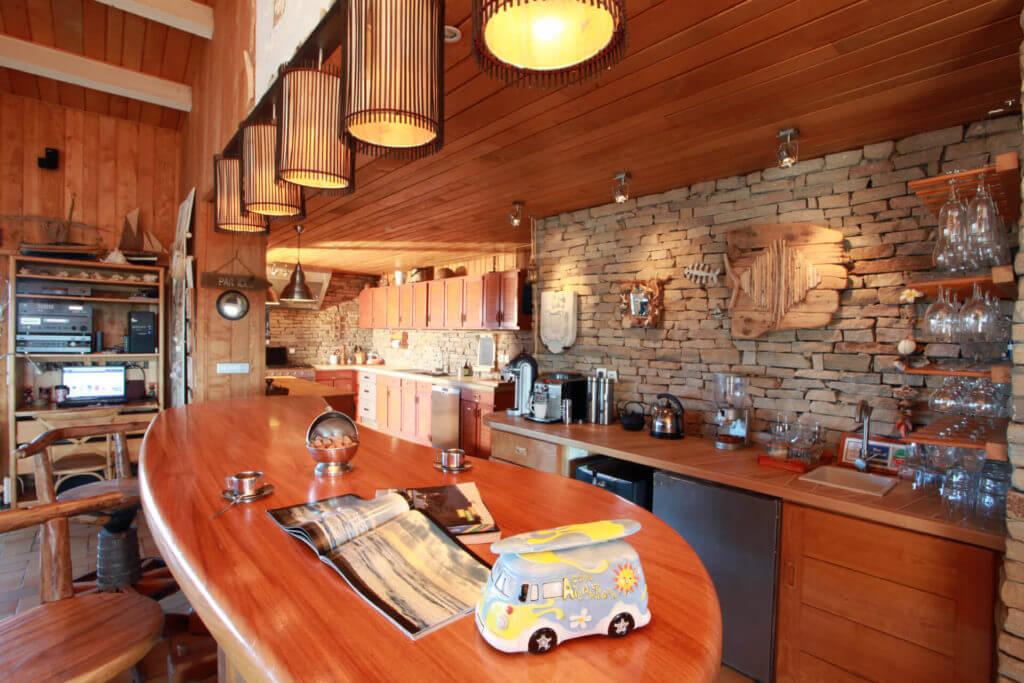 Cuisine ouverte 3 - Location Villa de Vacances en Bord de Mer à Seignosse Hossegor Landes
