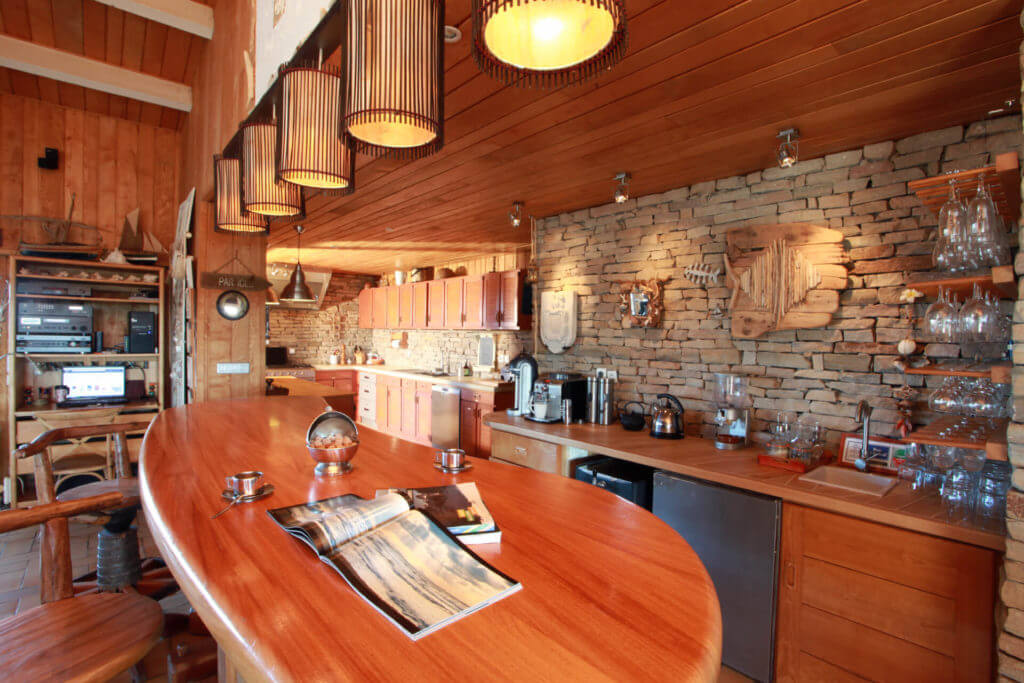 Cuisine ouverte 2 - Location Villa de Vacances en Bord de Mer à Seignosse Hossegor Landes