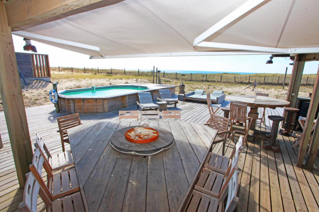 piscine 1h - Location Villa de Vacances en Bord de Mer à Seignosse Hossegor Landes