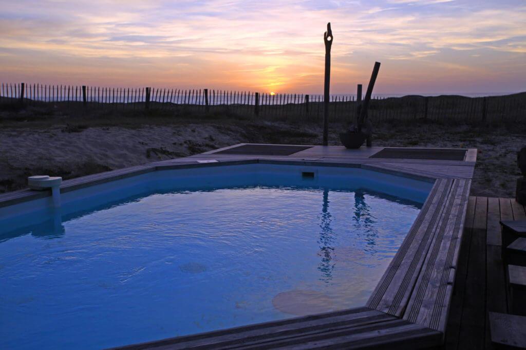 piscine 1c - Location Villa de Vacances en Bord de Mer à Seignosse Hossegor Landes