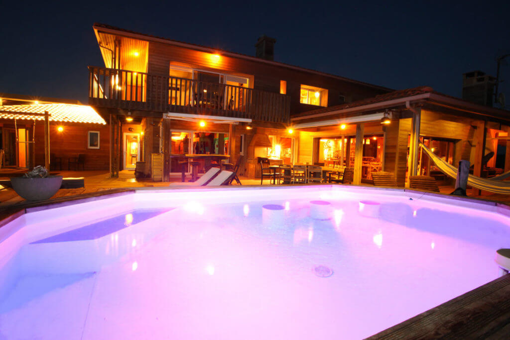 piscine 1d - Location Villa de Vacances en Bord de Mer à Seignosse Hossegor Landes