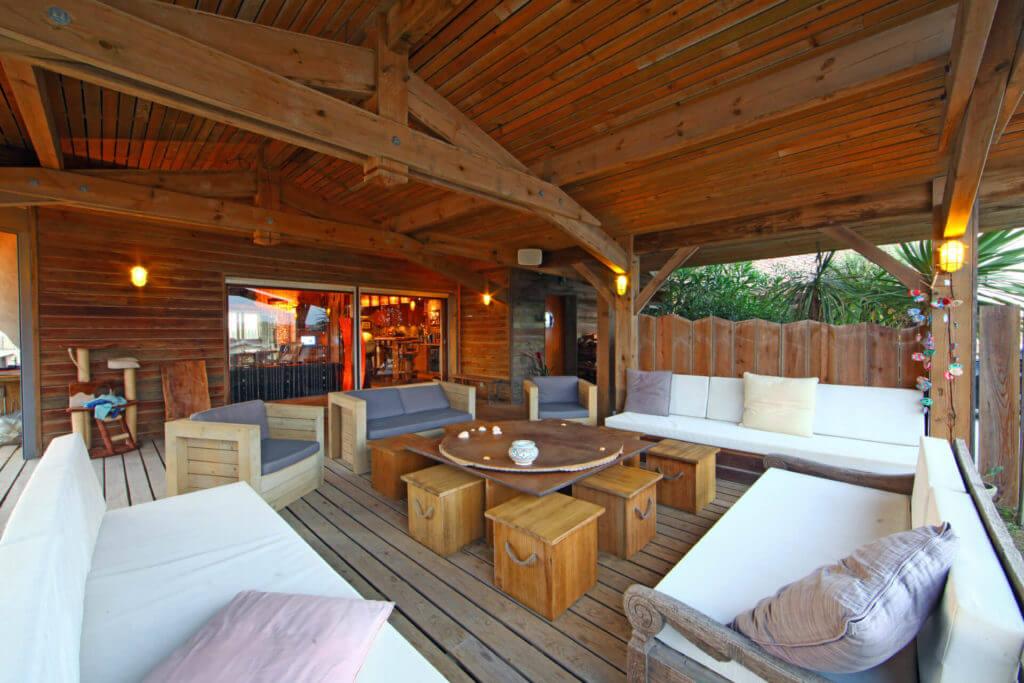 terrasse 3 - Location Villa de Vacances en Bord de Mer à Seignosse Hossegor Landes