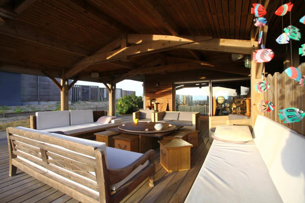 terrasse 4 - Location Villa de Vacances en Bord de Mer à Seignosse Hossegor Landes