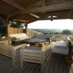 Terrasse - Villa de Vacances en Bord de Mer à louer à Seignosse Hossegor dans les Landes