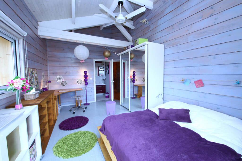 chambre 4a - Location Villa de Vacances en Bord de Mer à Seignosse Hossegor Landes