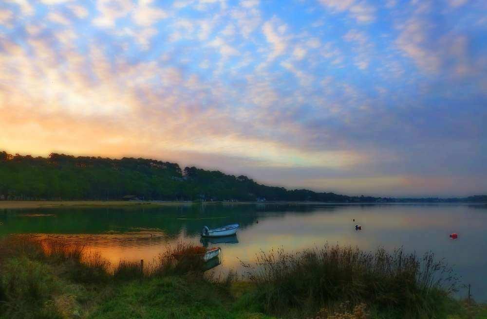 Le lac d'hossegor - Quoi faire ou voir à Seignosse Hossegor ?